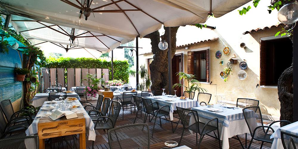 Ristorante con Terrazza Estiva Treviso - Trattoria alle Castrette